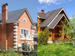 Выбираем между деревянным и кирпичным домом