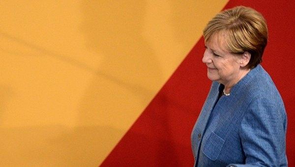 Меркель выиграла выборы в бундестаг в своем избирательном округе